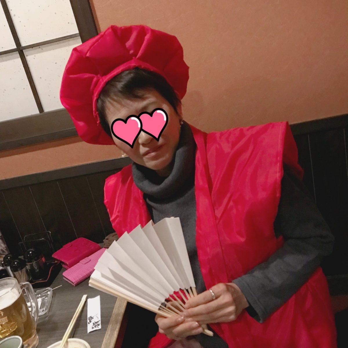 赤いちゃんちゃんこ☆