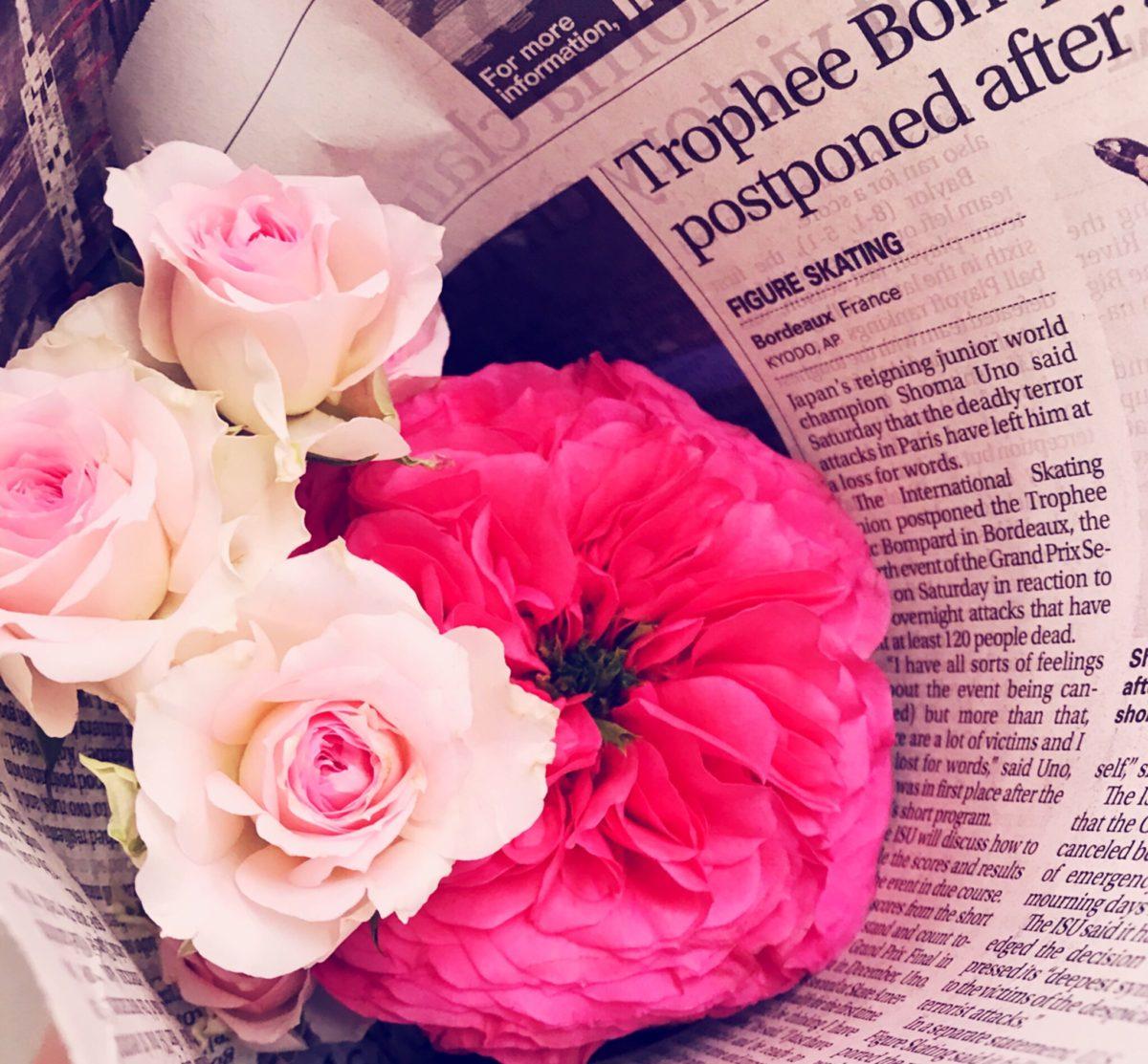 お花屋さんへ🌸